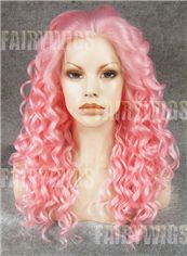 Vogue Wig Long Colored Female Wavy Lace Front Hair Wig 20 Inch