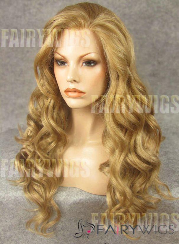 Realistic Blonde Wig 20