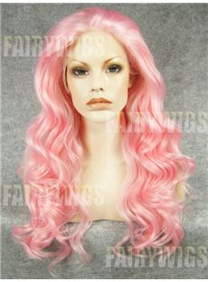 Brazil Long Female Wavy Lace Front Hair Wig 22 Inch