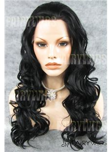 Wigs For Sale Long Sepia Female Wavy Lace Front Hair Wig 22 Inch