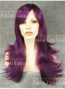 Online Wigs Long Female Wavy Lace Front Hair Wig 22 Inch