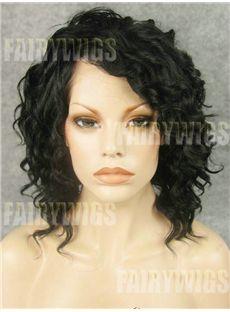 Hot Medium Sepia Female Wavy Celebrity Hairstyl