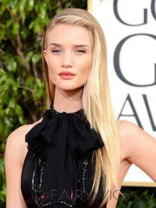 Impressive Long Blonde Female Straight Celebrity Hairstyle