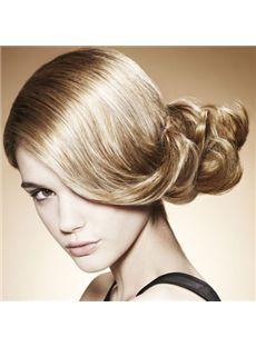 Wig Online Short Blonde Female Wavy Vogue Wigs