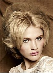 Wigs For Sale Short Blonde Female Wavy Vogue Wigs 10 Inch