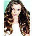 Wigs For Sale Long Brown Female Wavy Vogue Wigs 22 Inch