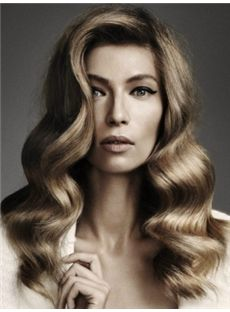 Sweety Medium Gray Female Wavy Vogue Wigs 16 Inch