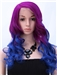 Attractive Long Brown Female Wavy Vogue Wigs 24 Inch