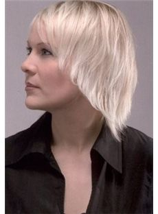 Wigs For Sale Short Blonde Female Straight Vogue Wigs 12 Inch