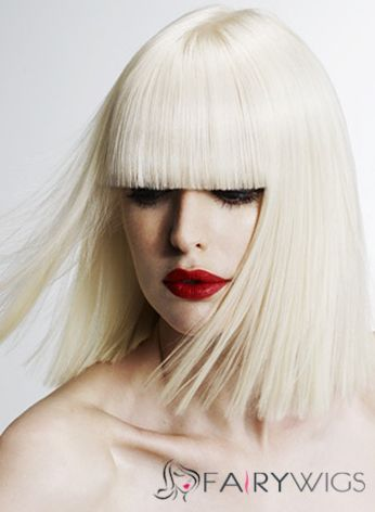 Wigs For Sale Short Blonde Female Straight Vogue Wigs 12