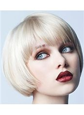 Online Short Blonde Female Straight Vogue Wigs
