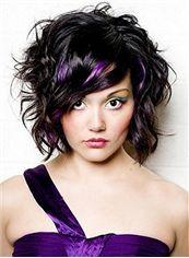 Sale Wigs Short Sepia Female Wavy Vogue Wigs 12 Inch