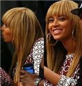 New Impressive Long Blonde Female Beyonce Knowles Straight Celebrity Hairstyle 20 Inch