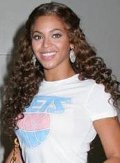 Up-to-date Long Brown Female Beyonce Knowles Wavy Celebrity Hairstyle 22 Inch