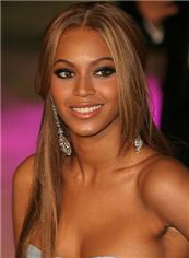 Dream Long Blonde Female Beyonce Knowles Straight Celebrity Hairstyle 22 Inch