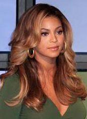Human Hair Brown Long European Style Wigs for Black Women 20 Inch