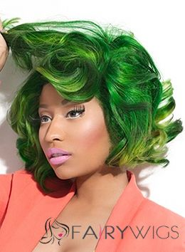 Human Hair Colored Midium Wig Online Wigs For Black Women
