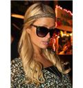 Ingenious Long Blonde Female Paris Hilton Wavy Celebrity Hairstyle 20 Inch