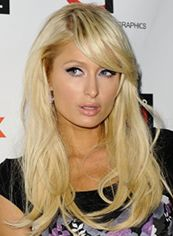 Marvelous Medium Blonde Female Paris Hilton Wavy Celebrity Hairstyle 18 Inch