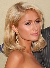 Online Medium Blonde Female Paris Hilton Wavy Celebrity Hairstyle 14 Inch