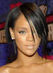 Graceful Short Brown Female Rihanna Straight Celebrity Hairstyle 12
