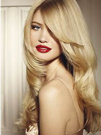 100% Human Hair Blonde Long Wigs 22 Inch Full Lace Wavy