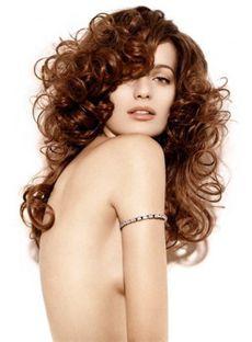 100% Human Hair Brown Medium Full Lace Wavy Wigs 18 Inch