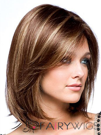 100 human hair brown short wigs 12 inch full lace wavy