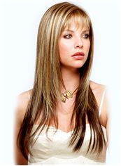 Discount Long Straight Blonde 22 Inch Indian Remy Hair Wigs