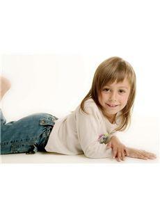 Wig Online Medium Blonde 100% Indian Remy Hair Kids Wigs 14 Inch