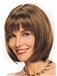 Wig Online Short Straight Brown 12 Inch Remy Human Hair Wigs