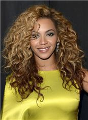 Amazing Lace Front Medium Wavy Beyonce Knowles' Human Hair Wig