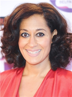 Tracee Ellis Ross Hairstyle Short Wavy Full Lace Remy African
