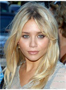 Unbeatable Ashley Olsen Medium Wavy Full Lace Real Human Hair Wigs