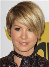 Jennifer Aniston Hairstyle Short Straight Full Lace Remy Hair Wigs