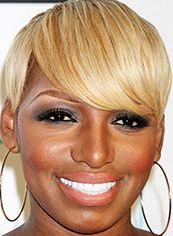 Glamorous Short Straight Capless African American Wigs for Women