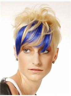 Advanced Short Wavy Full Lace Human Wigs