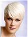 Lola Creton Hairstyle Short Straight Full Lace Human Wigs