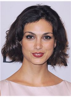 Quality Halle Berry Hairstyle Short Wavy Full Lace