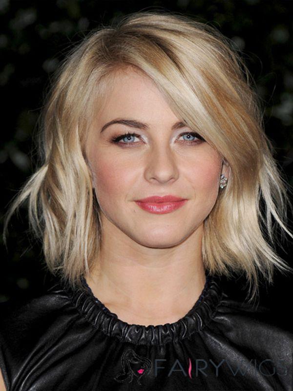 Stunning Jennifer Aniston Hairstyle Short Wavy Full Lace