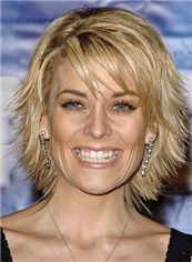 Smart Nicole Richie Short Straight Full Lace Human Hair Wigs