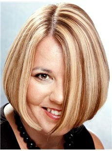 Advanced Short Straight Full Lace Remy Hair Wigs