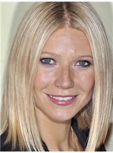 Best Reese Witherspoon Hairstyle Medium Straight Full Lace Human Wigs