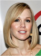 Bright Trudie Styler Hairstyle Short Straight Full Lace Human Wigs
