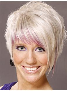 Hottest-Selling Short Straight Capless Human Wigs