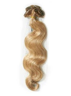 12'-30' Wavy Human Hair Clip In Full Head Set