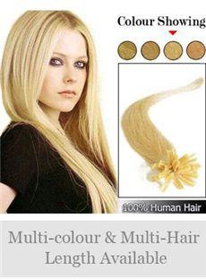 12'-30' 100% Human Hair Nail Tip Extensions