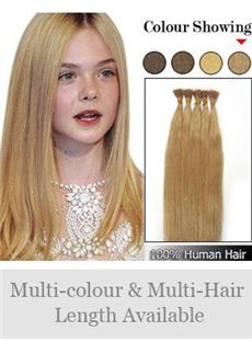 New 12'-30' 100% Stick Tip Human Hair Extensions