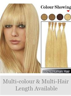 12'-30' 100% Stick Tip Human Hair Extensions