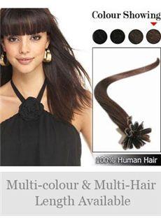 High Quality 12'-30' 100% Human Hair Nail Tip Extensions